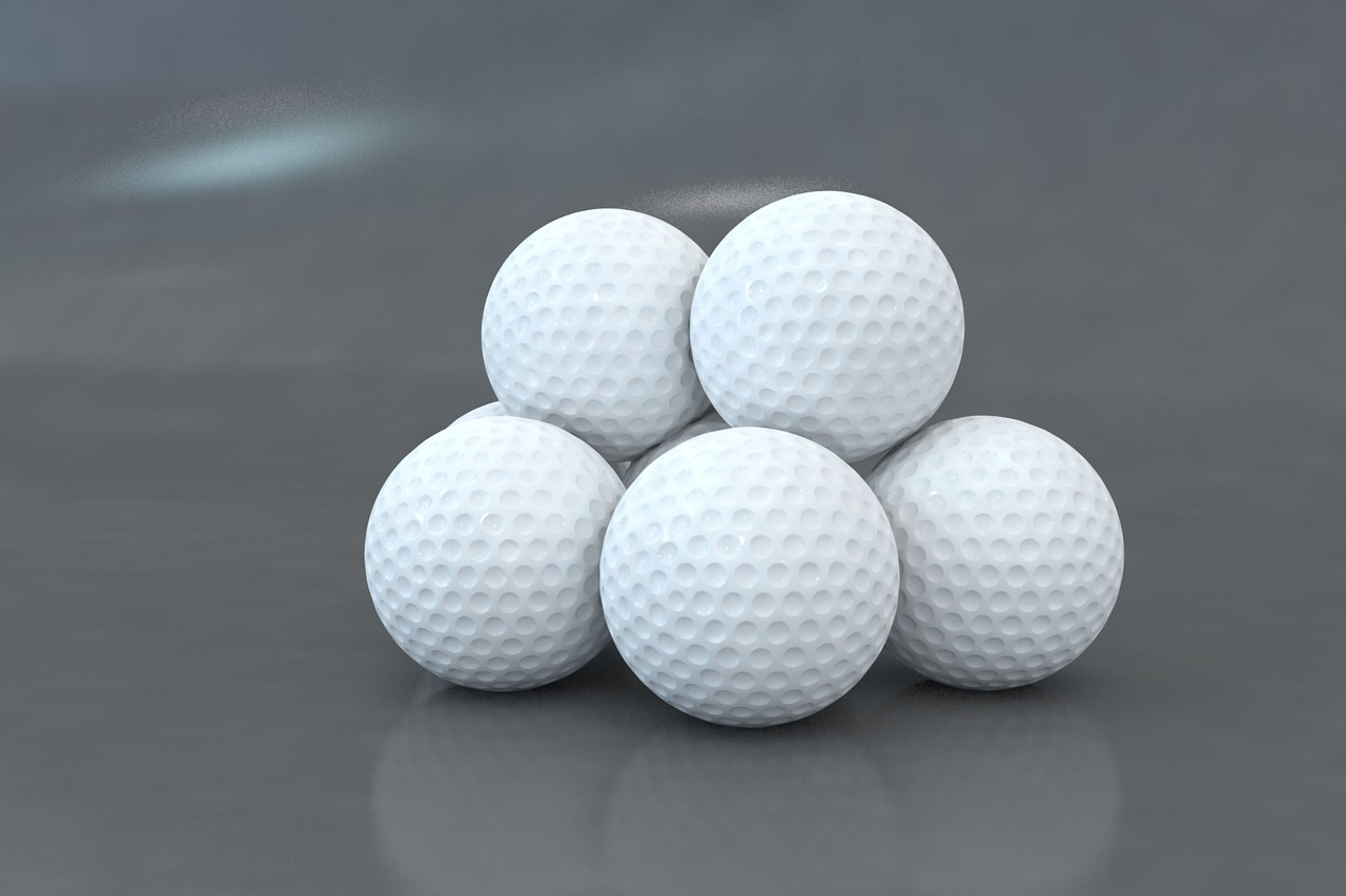 piłeczki golfowe